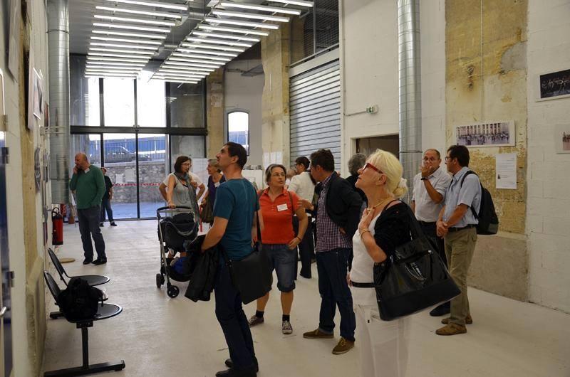 Mais les visiteurs étaient surtout là pour découvrir les photos !